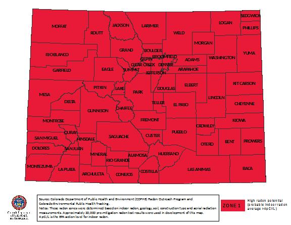 About Us Aames Radon - Us epa radon map zone 3